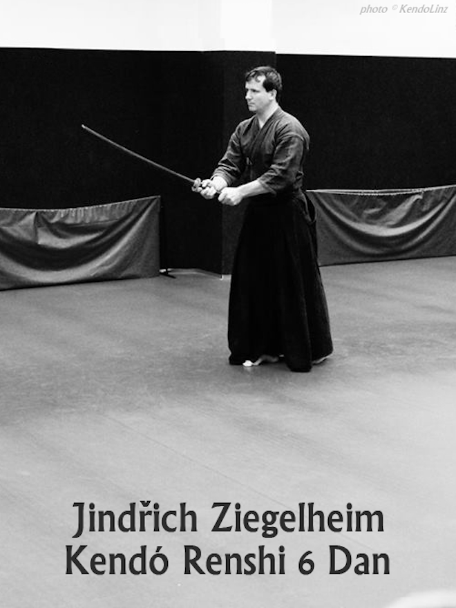 Jindřich Ziegelheim Kendó Renshi 6. Dan